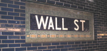 Wall Street Subway Station - NYC